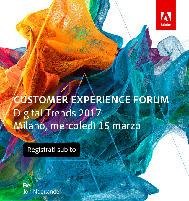 Customer experience forum - Digital trends 2017