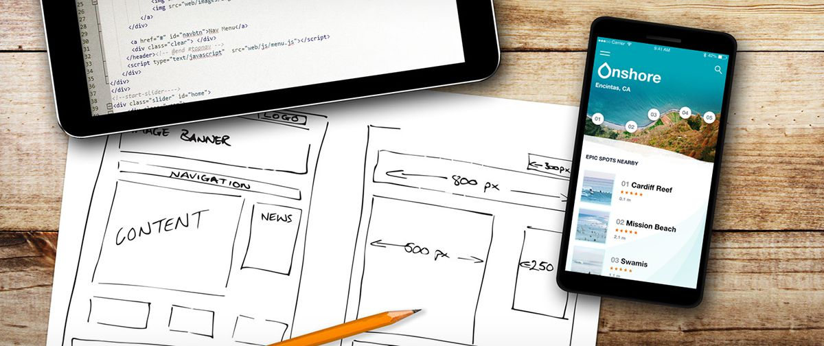 Twelve tips for mobile UX design.
