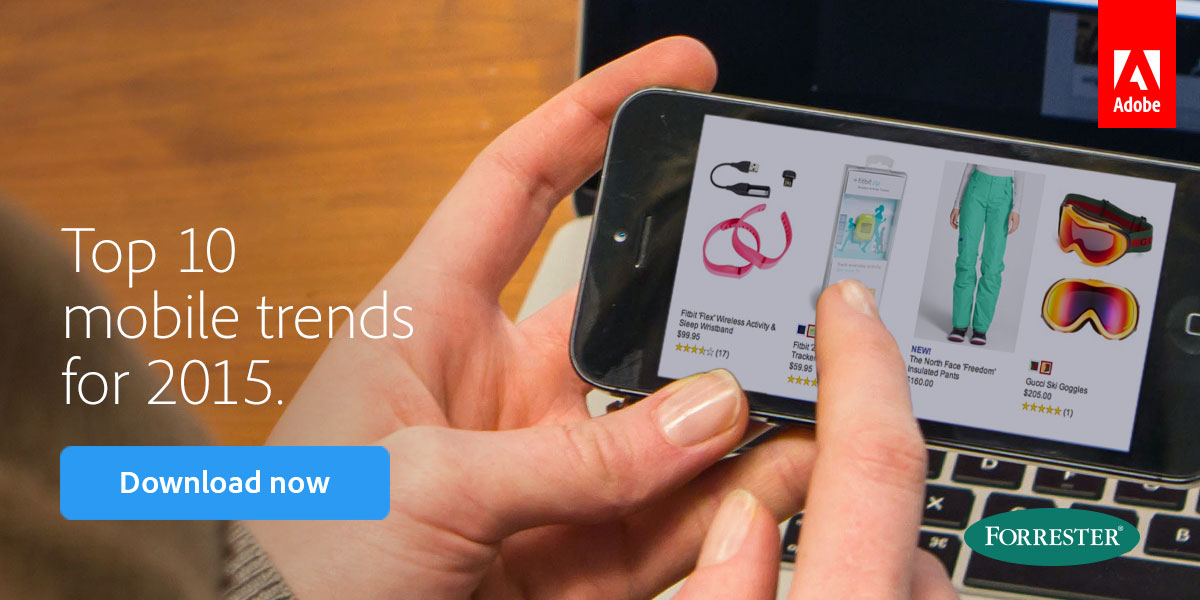 Top 10 mobile trends for 2015. Download now