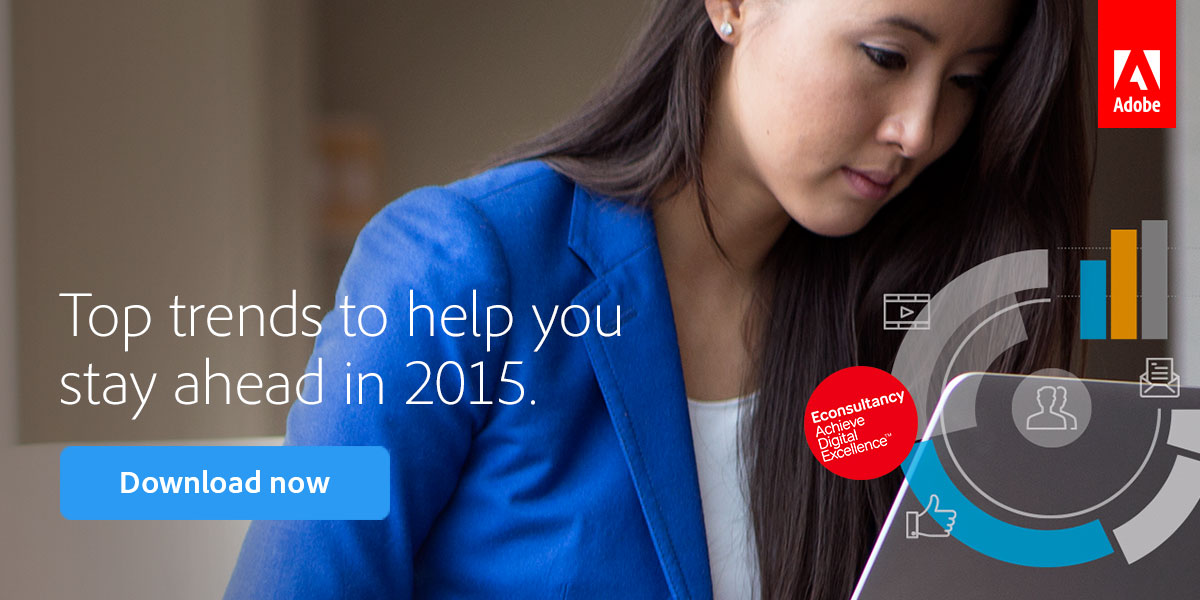 Top trends to help you stay ahead in 2015. Download now